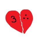 half a heart 300 dpi big