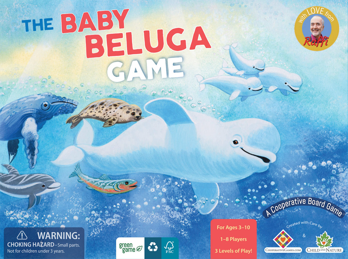 Baby Beluga Board Game